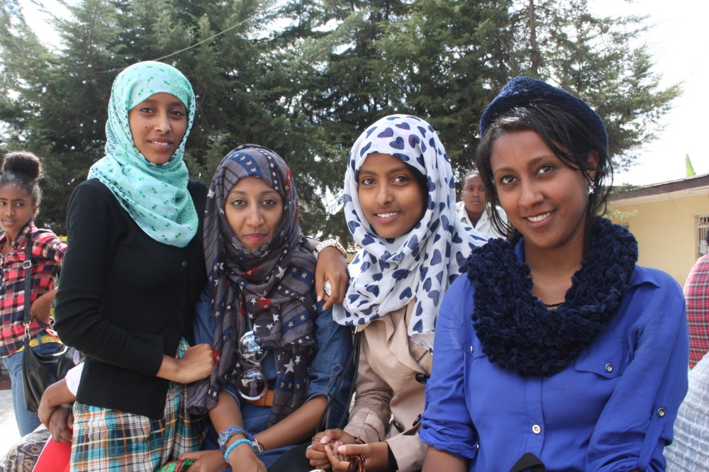 Refugee women in Addis