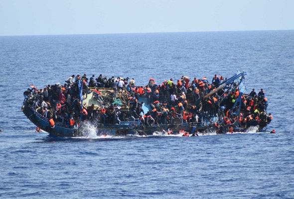 Boatloads of migrants have attempted to reach southern Europe