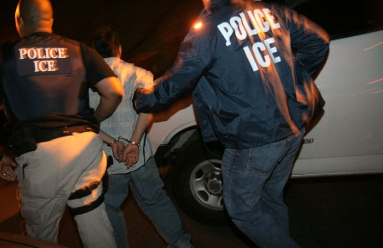 ICE raid arrest